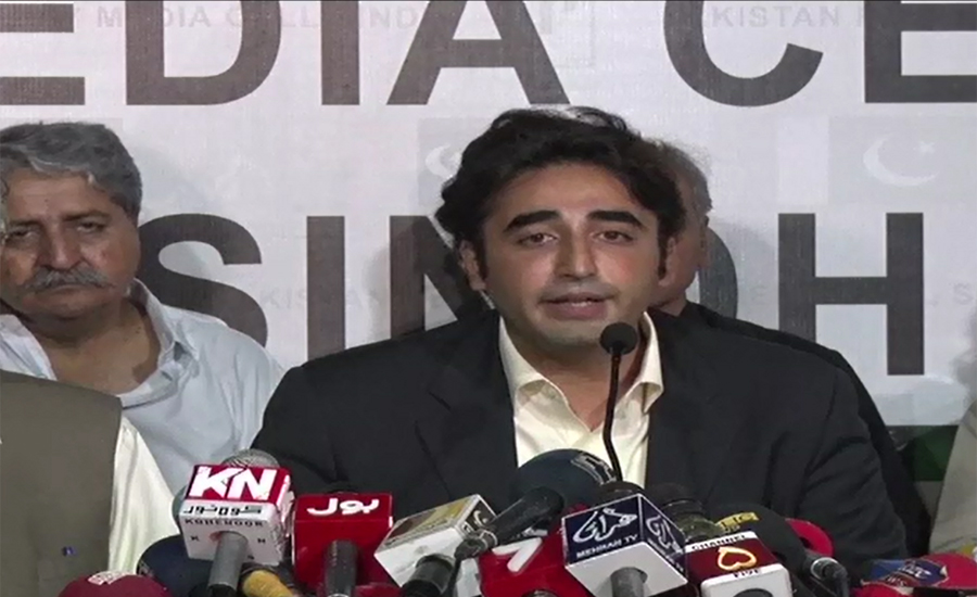 Bilawal Bhutto assures of rule of law, good governance in Sindh