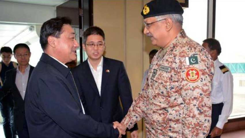 Chinese commander lauds Sindh Rangers for restoring peace in Karachi