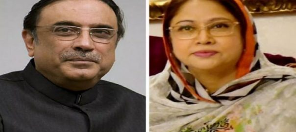 Fake accounts, Asif Zardari, Faryal Talpur, review petition, Jan 7 verdict