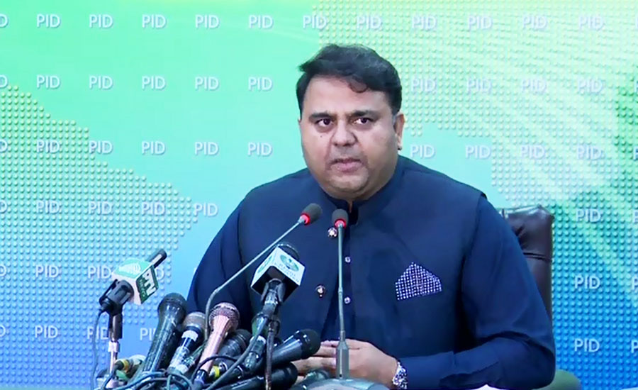 Pakistan & India are atomic powers, can't go to war: Fawad Ch