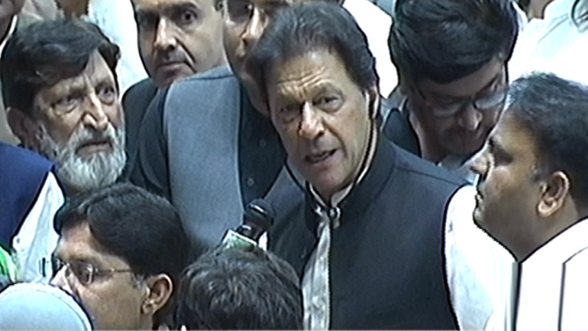 No NRO to be given any dacoit, says Imran Khan