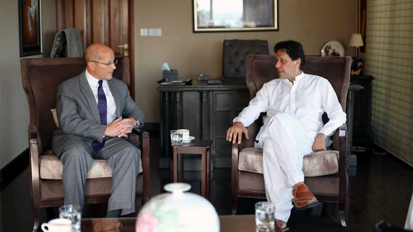 Pakistan attaches importance to trade ties with US: Imran Khan