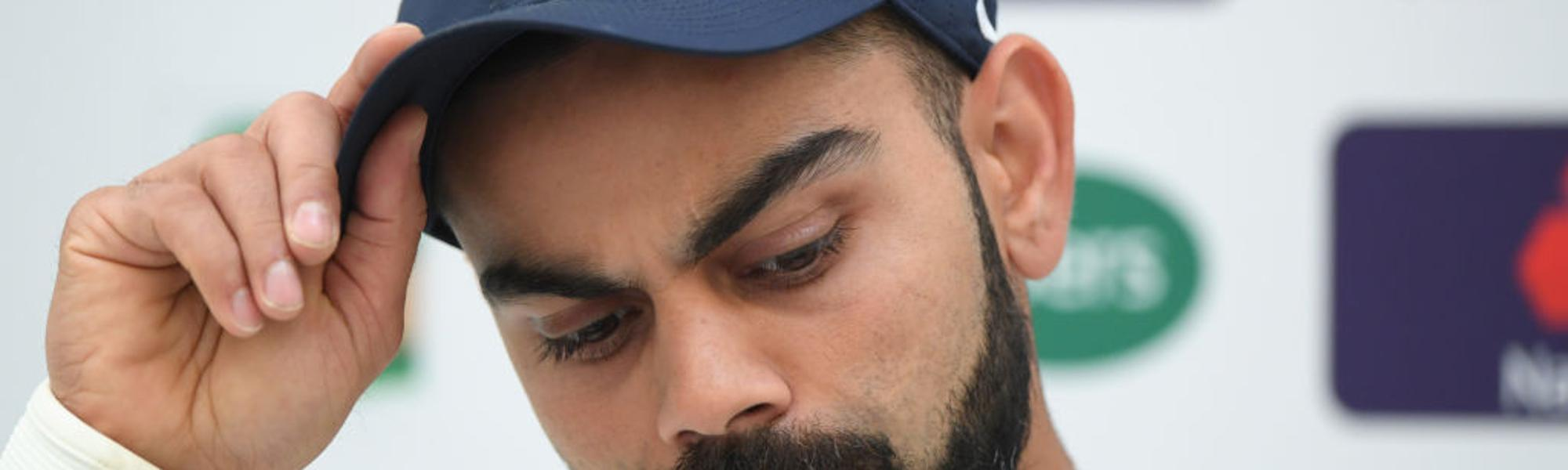 I doubt an all-pace attack is the right option: Kohli
