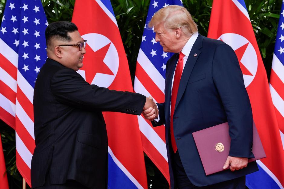 Trump hails Kim, sees no need to resume U.S.-South Korea war games