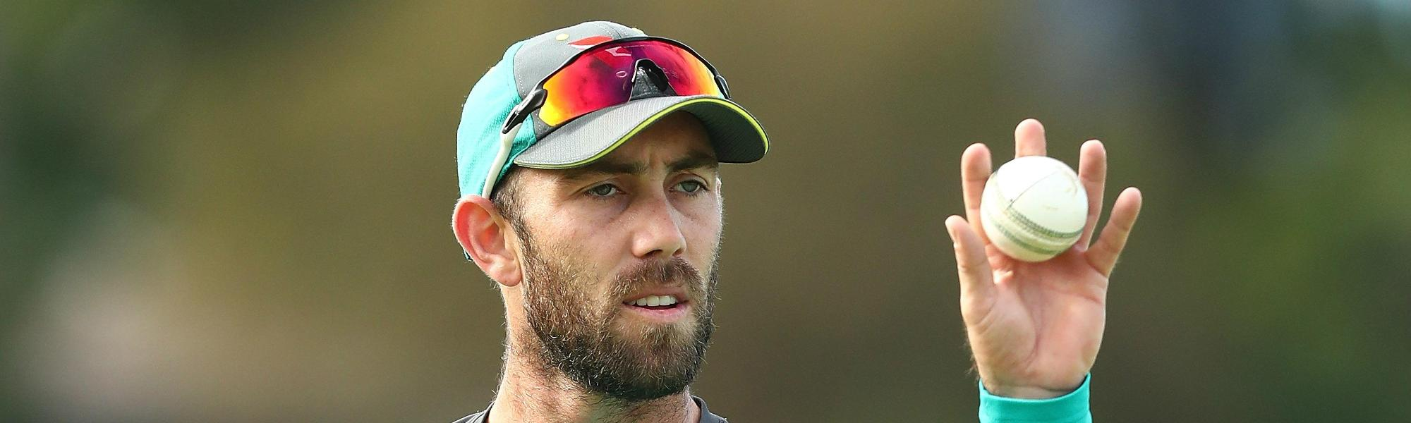 Maxwell's agenda: Manage injury, play Test cricket