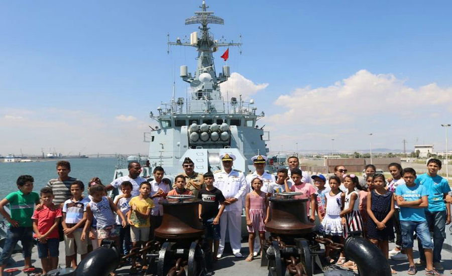 Pakistan Navy Ship ASLAT visits Tunis as part of overseas deployment