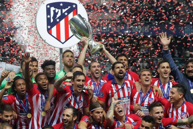 Atletico take sweet revenge on Real to lift Super Cup