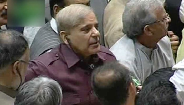 This parliament created by massive rigging: Shehbaz Sharif