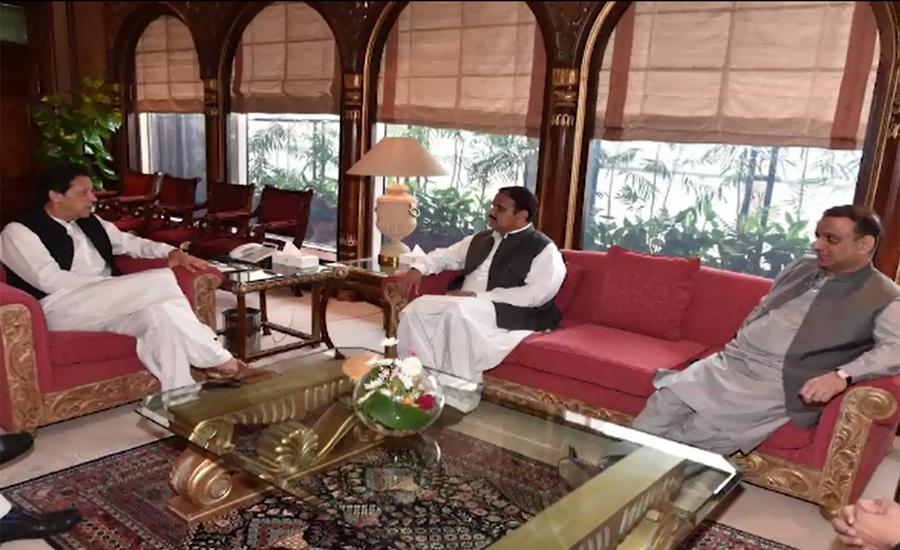 PM Imran Khan, CM Usman Buzdar discuss Punjab cabinet