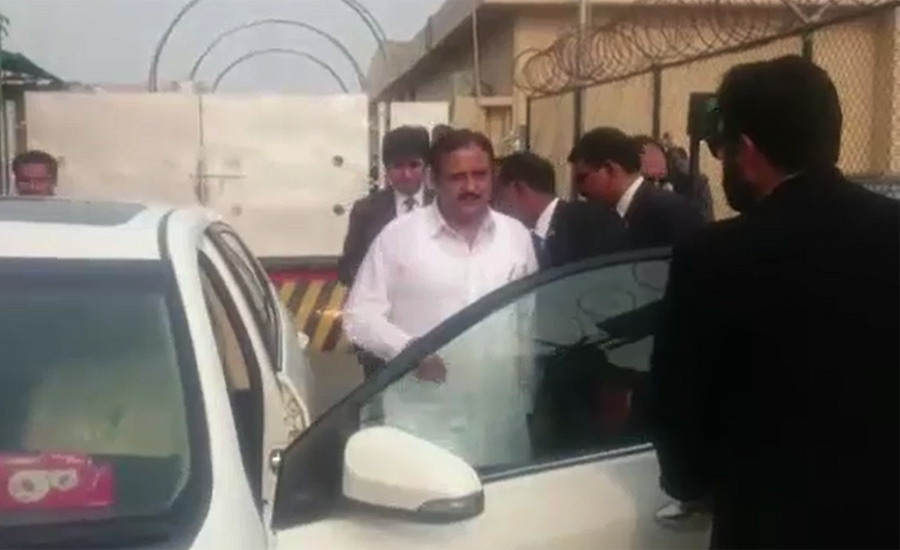 Usman Buzdar assumes charge as Punjab chief minister
