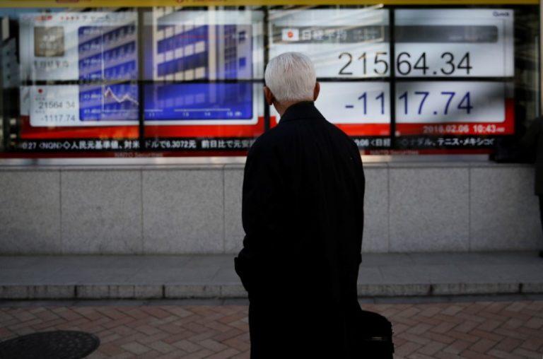 Asia shares, euro under water as Turkish lira sinks