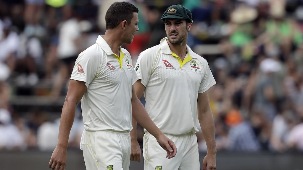 Cummins and Hazlewood out of Pakistan Test series