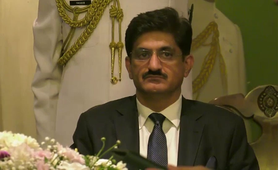 Murad Ali Shah takes oath as Sindh chief minister