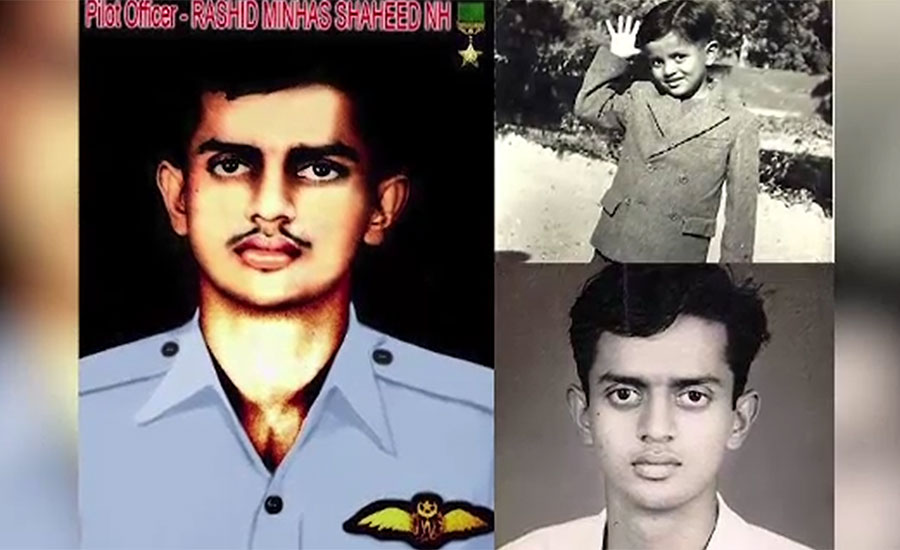 Martyrdom anniversary of Rashid Minhas being observed today