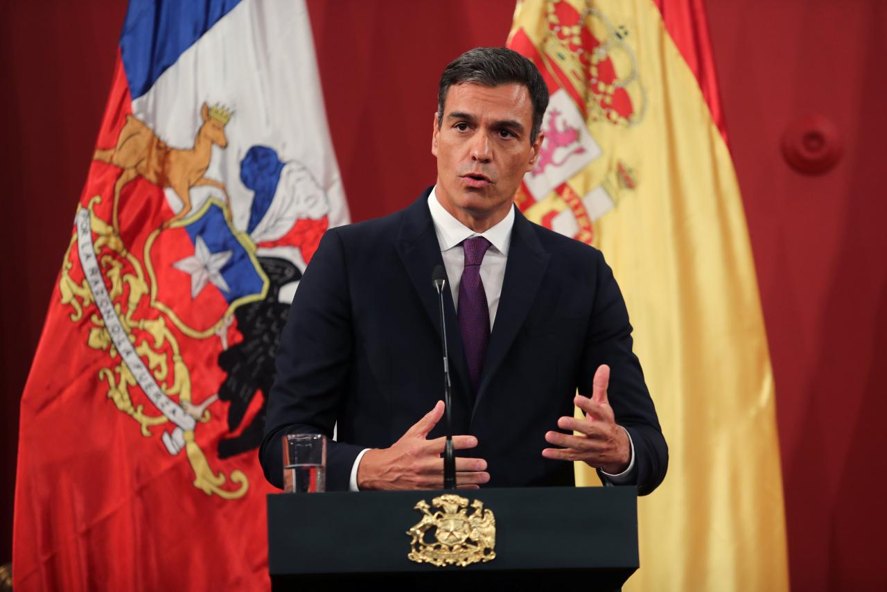 Spanish prime minister promises to back dialogue in Venezuela