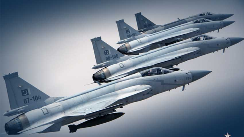 Air Force Day being celebrated with full zeal