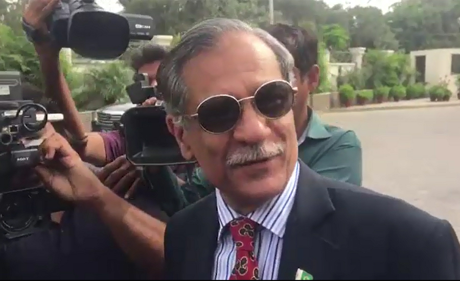 Chief Justice Saqib Nisar says he had gone to sub-jail, not hospital