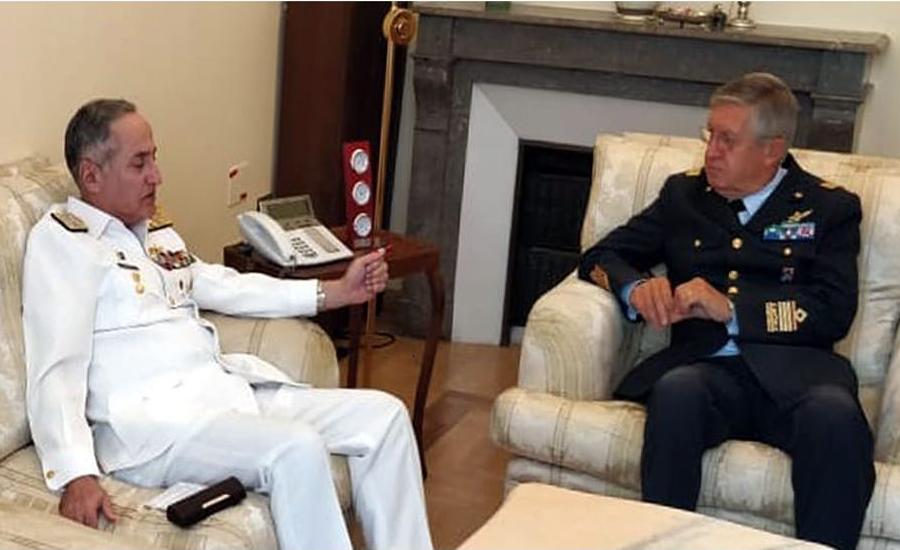 CNS Zafar Abbasi calls on Italian Chief of Defence General Staff