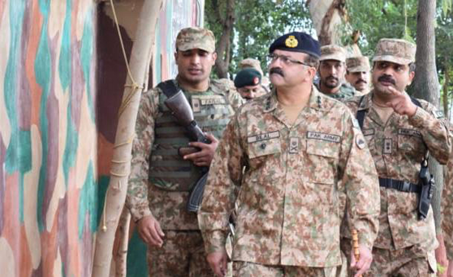 Commander Rawalpindi Corps Lt Gen Bilal Akbar visits sectors along LoC