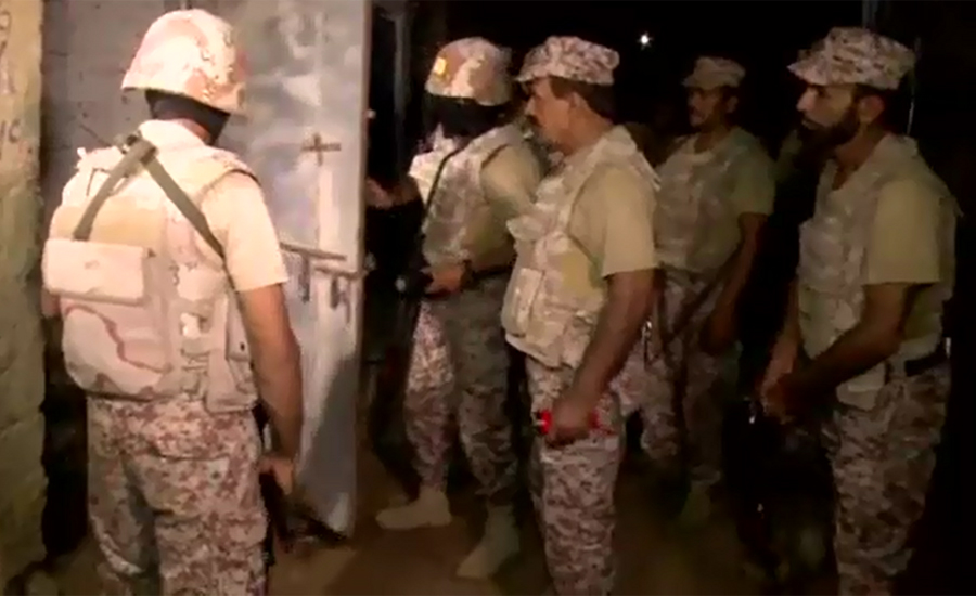 Sindh Rangers conducted 14,327 operations during five years in Karachi