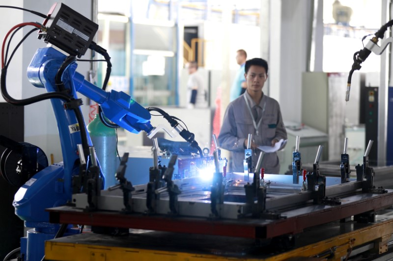 China industrial output tops forecasts, but investment growth sinks to new low