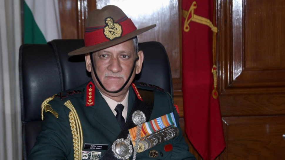 Gen Bipin backs Modi's decision of declining dialogue with Pakistan