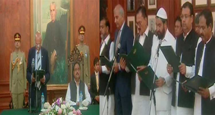 12 new ministers of Punjab cabinet take oath