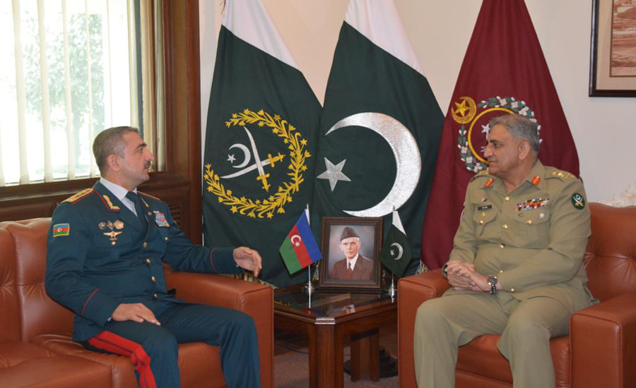 Azerbaijan State Border Service chief, COAS discuss regional peace