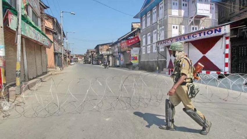 Complete shutdown in Indian-held Jammu Kashmir today