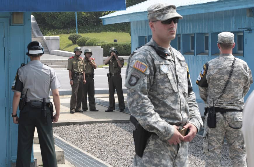 Two Koreas, UN Command hold first talks on disarming border