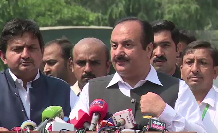 Rana Mashood's party membership suspended over controversial statement