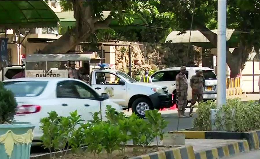 NAB conducts raid at Sindh information department