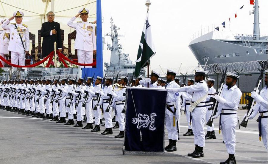 Pakistan Navy commissions fleet tanker 'PNS Moawin'