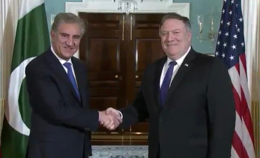 FM Qureshi, Mike Pompeo discuss bilateral ties, Afghanistan situation