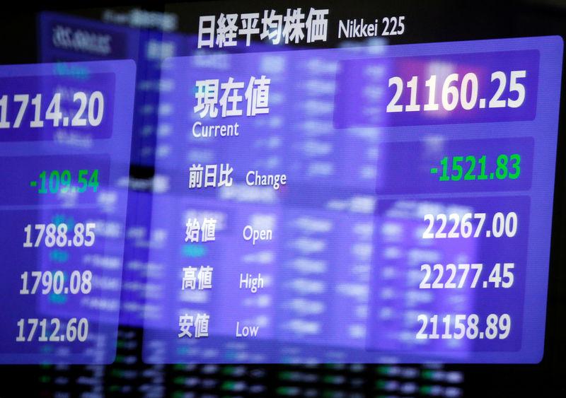 Rising US bond yields hit global markets, Asian stocks wobble