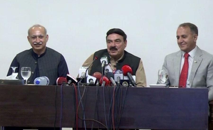 Shehbaz Sharif asking for NRO, claims Sheikh Rashid