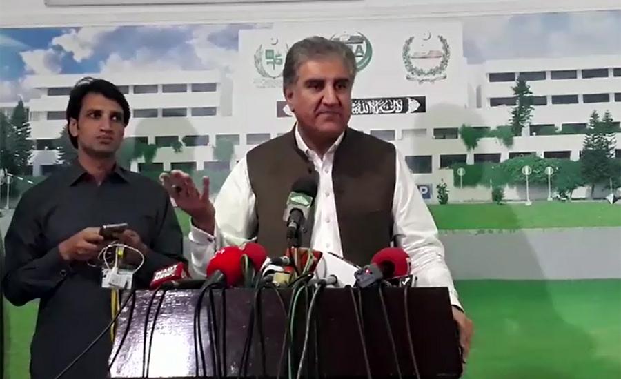 Opposition wants to politicize Shehbaz Sharif's arrest: FM Qureshi