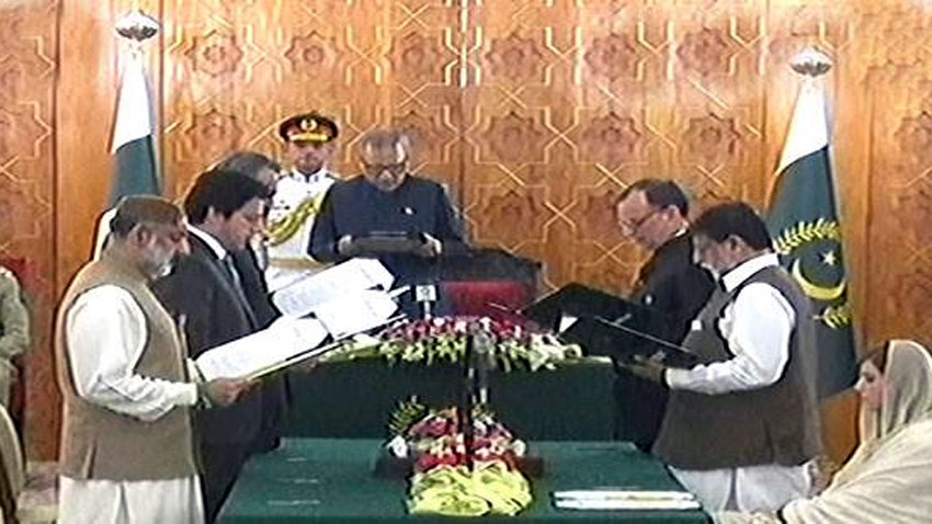 Six new ministers take oath as federal cabinet members