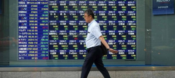 asian share stock pounds dollar ecomomic growth