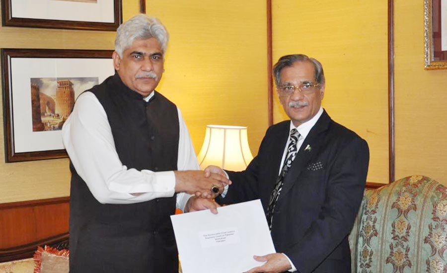 92 News Media Group Chairman Mian Hanif donates Rs10m to dam fund
