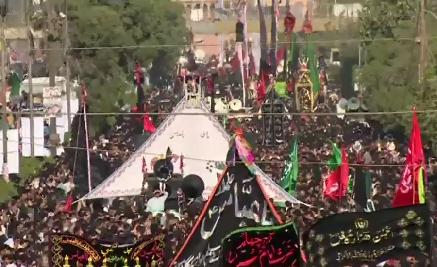 Chehlum of Karbala martyrs being observed amid tight security