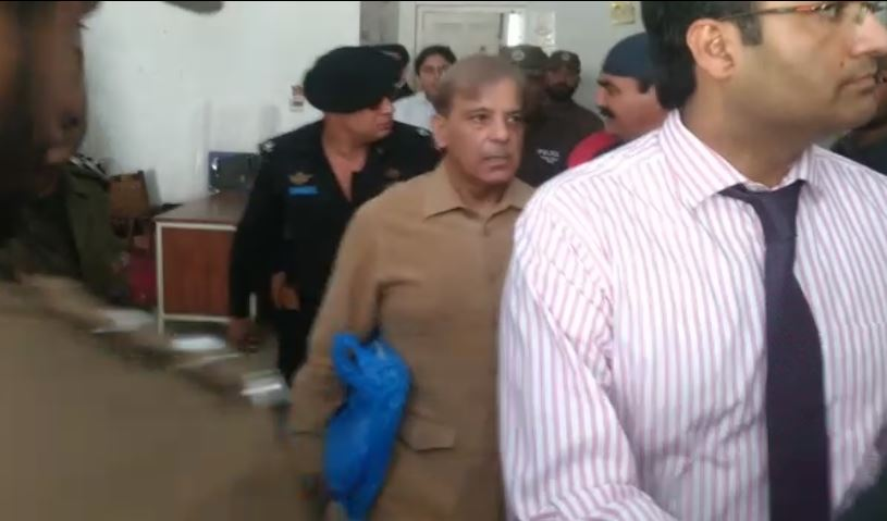 Shehbaz Sharif's remand extended for 14 days in Ashiana Housing scam