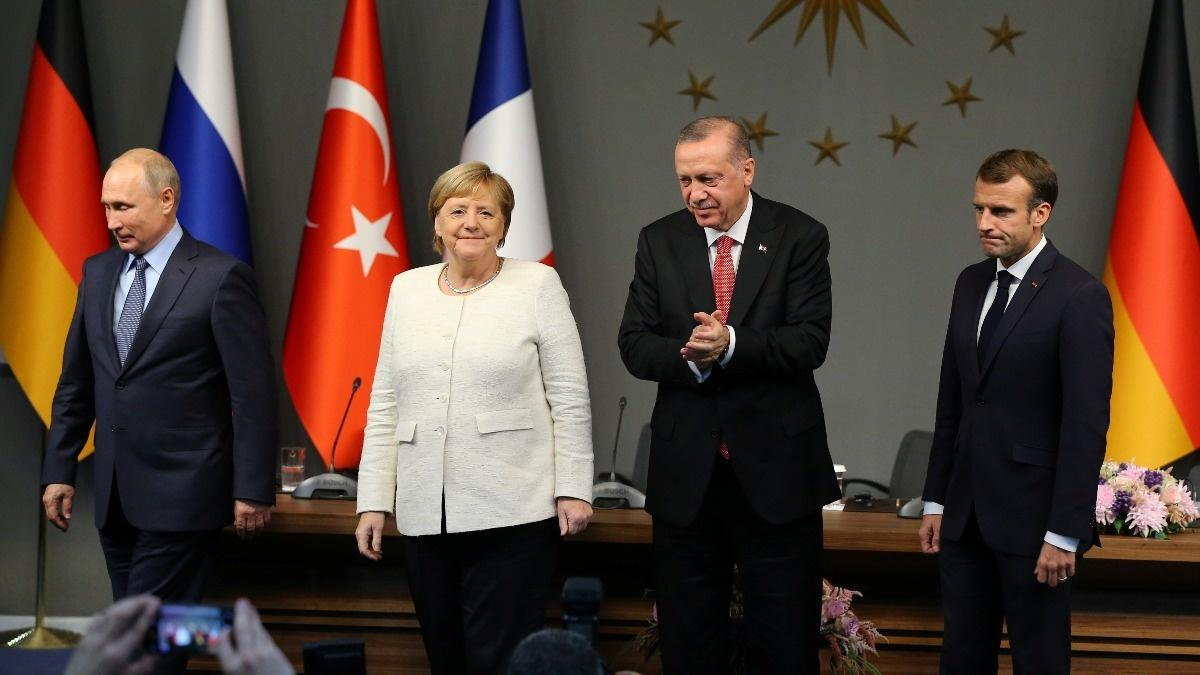 Russia, Germany, France and Turkey call for lasting ceasefire, constitutional meeting for Syria