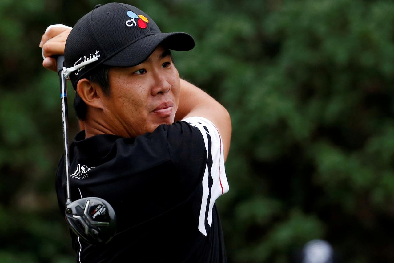 Golf: An puts Asia on the map with Australian Open lead