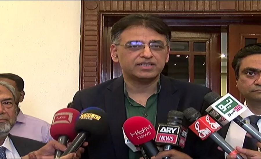 Political nexus, incompetence behind low tax net: Asad Umar