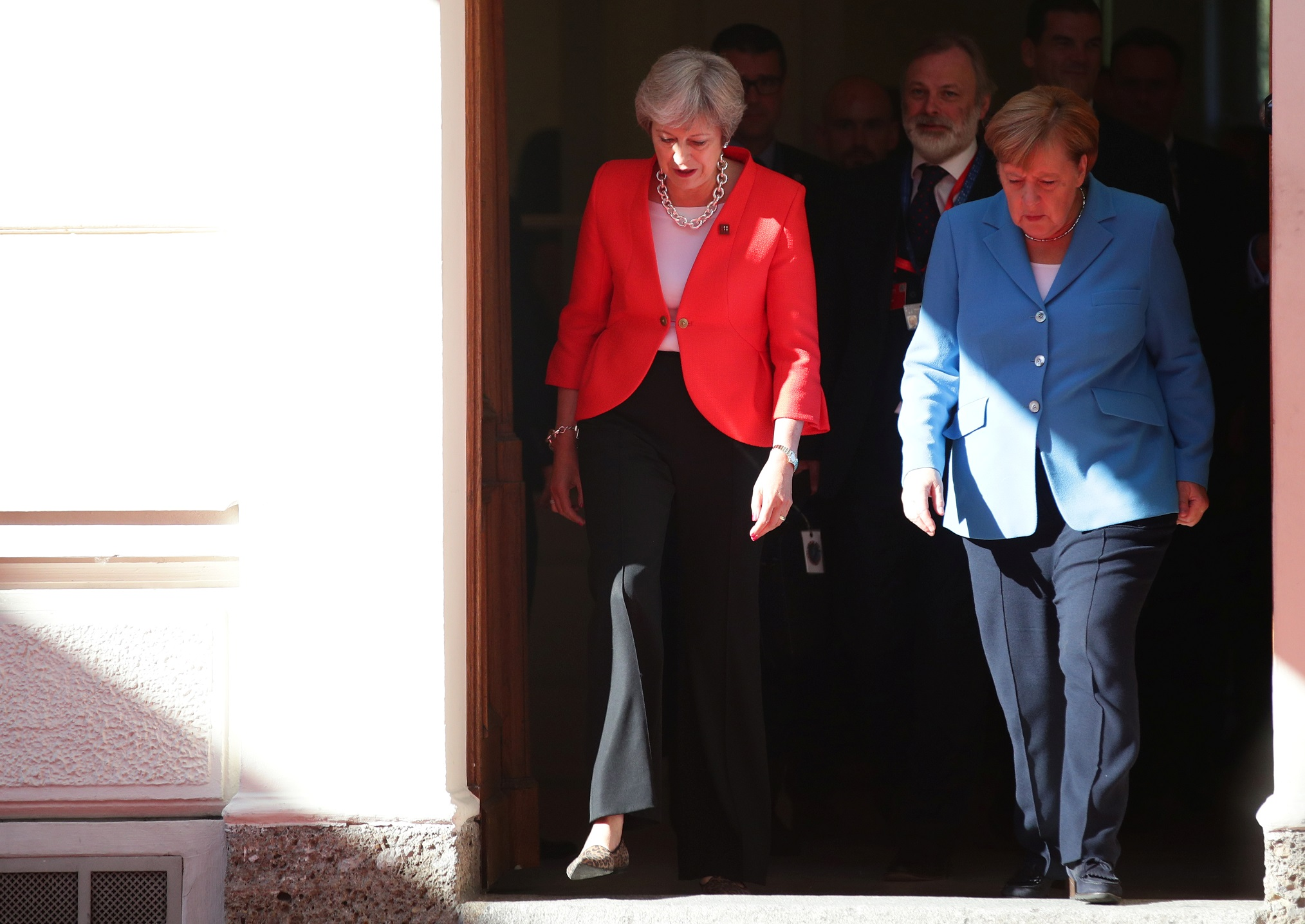 Britain must talk further about how to leave EU - Merkel