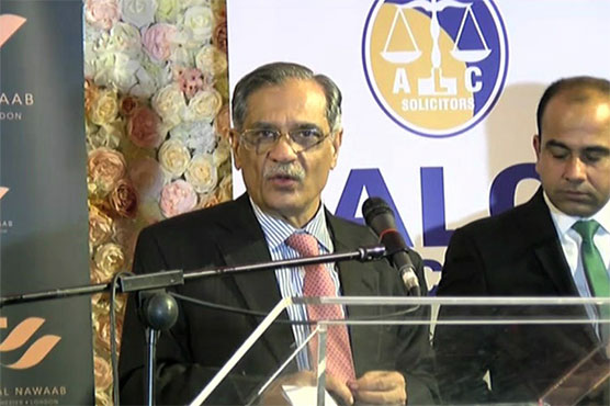 No one can stop construction of dams in Pakistan: CJP Saqib Nisar