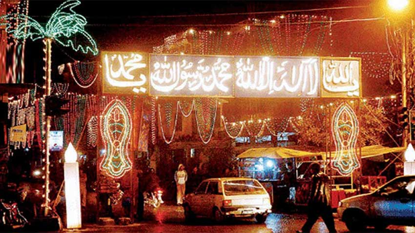 Eid Milad-un-Nabi (SAWW) to be celebrated with religious zeal today