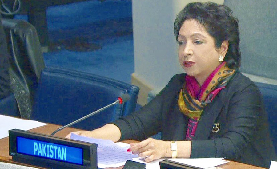 Maleeha apprises UN of drive against defamation of religions in Pakistan