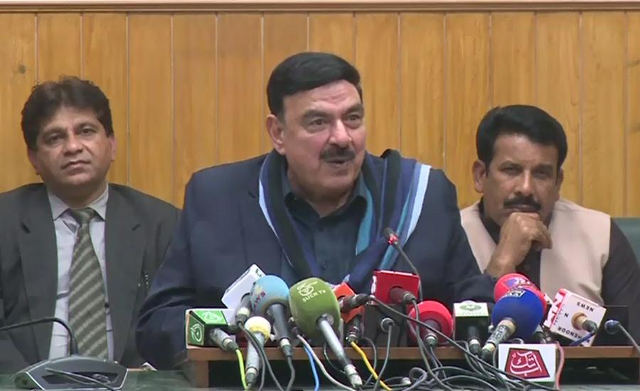 Those playing in name of 'Falaudawala' are jail's raw material: Sh Rasheed